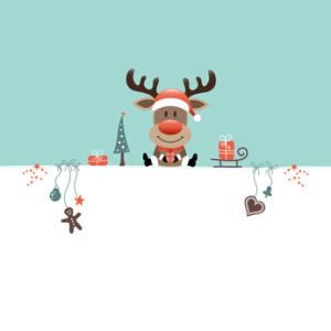 Wishlist Reindeer & Symbols Retro
